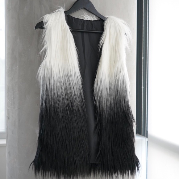 f9b58c21eaf1 Style Link Miami Jackets & Coats | Sample Sale Sleeve Faux Fur ...